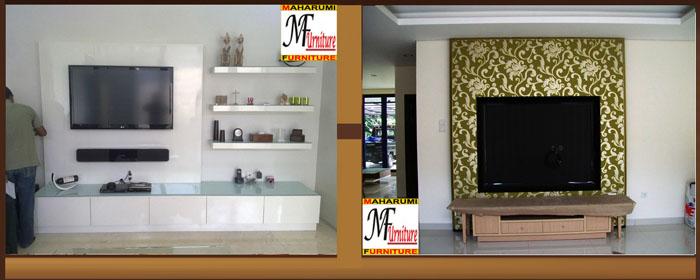 Custom Setting Interior Furniture Lemari Wardrobe Rak Backdrop Credenza