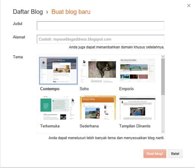Langkah Praktis Membuat Blog Sendiri Secara Singkat (Untuk Pemula)