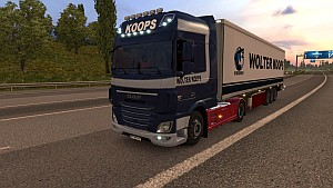 Wolter Koops pack for DAF Euro 6