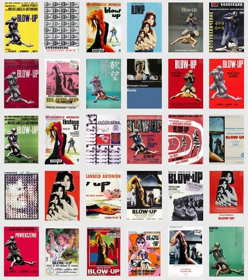 Recenzja fotograficznego filmu Blowup, czyli Powiększenie. Okładki, plakaty.