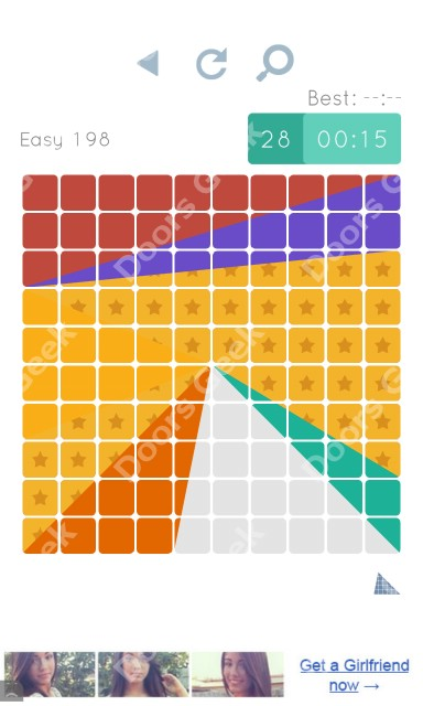Cheats, Walkthrough for Blocks and Shapes Level 198