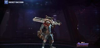 Uniform Rocket Raccoon