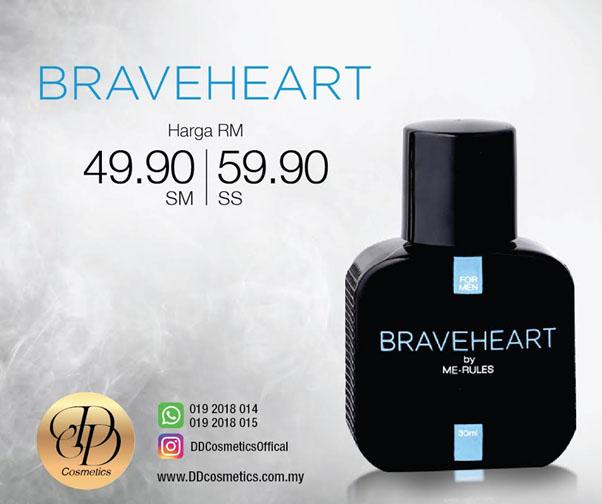 Giveaway Minyak Wangi Braveheart & Sweetheart DD Cosmetics Di Mialiana.com