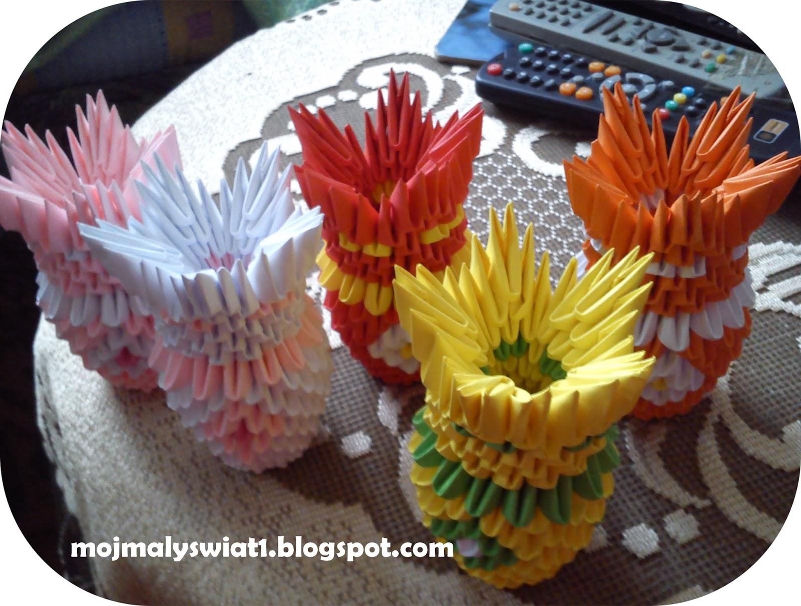 wazoniki origami modułowe