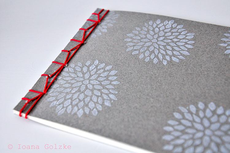 miss red fox notizbuch mit japanischer buchbindung. Black Bedroom Furniture Sets. Home Design Ideas