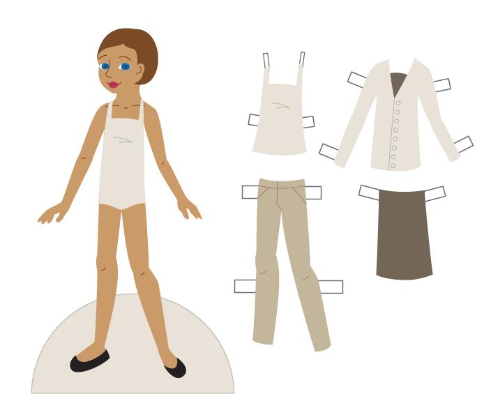 barbie body outline - photo #17