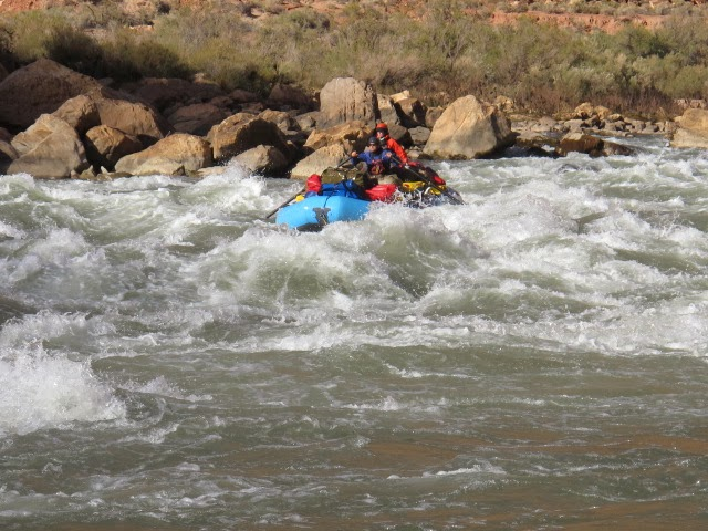 Rafter Becky : Rafting the Colorado River Through Grand