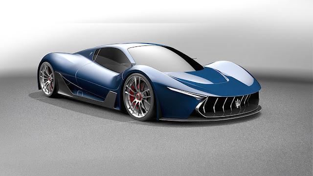 El diseño está basado en el Ferrari Laferrari y el Maserati Tipo 63 Birdcage