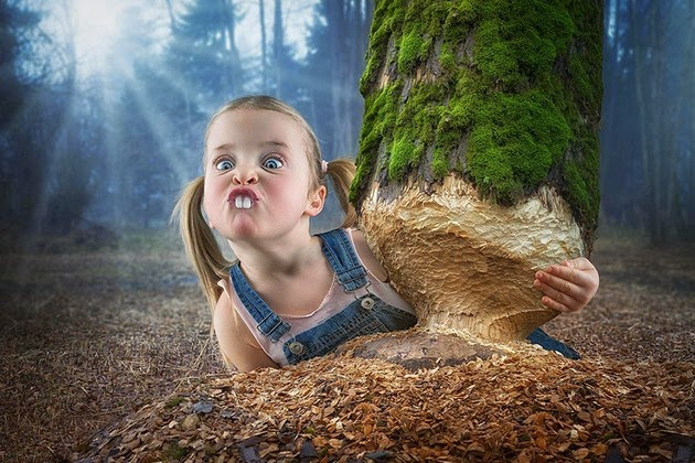 John Wilhelm, creative dad, most amazing photo manipulations
