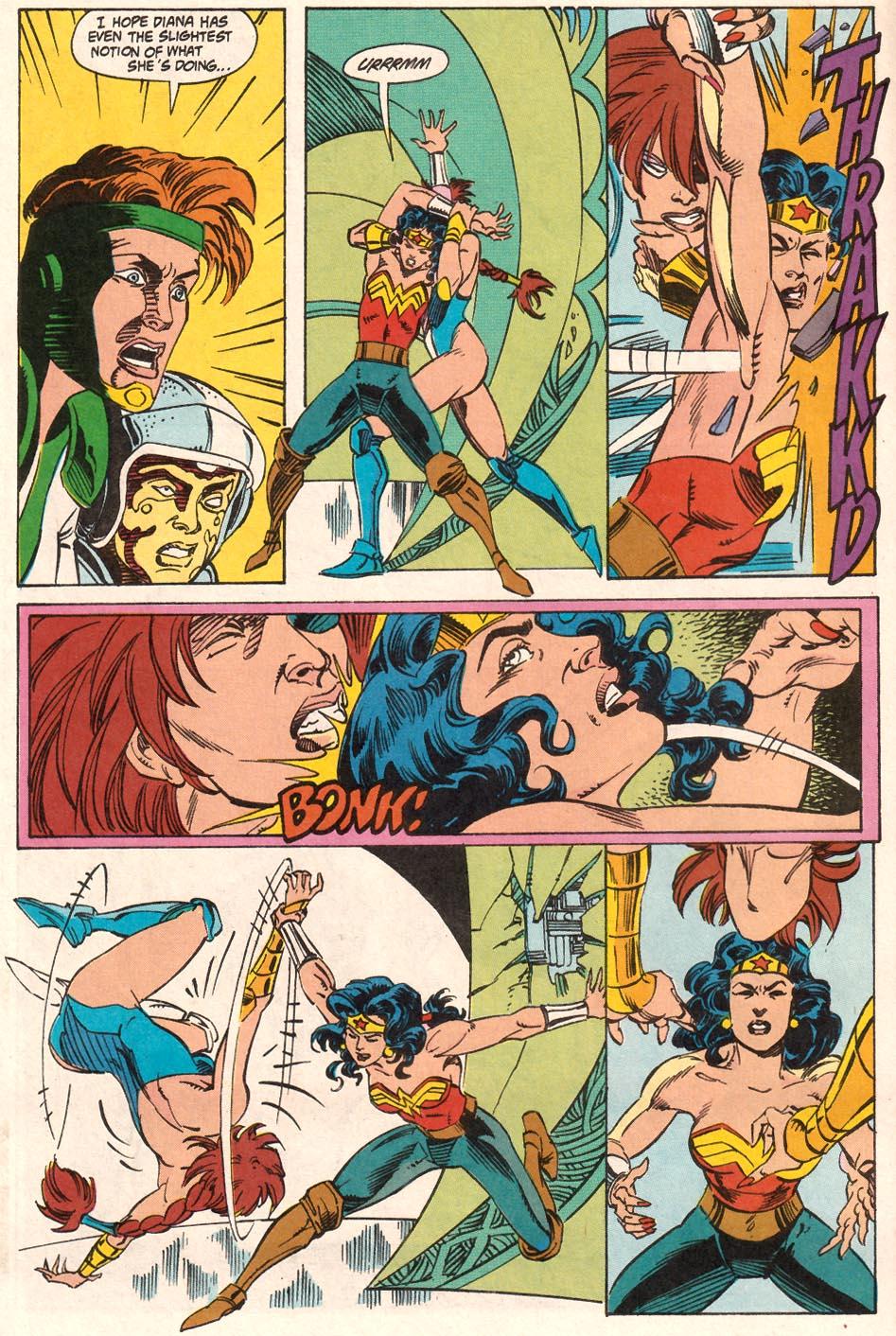 Read online Wonder Woman (1987) comic -  Issue #71 - 11
