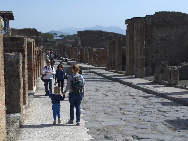 Włochy, zwiedzanie Kampani z dzieckiem