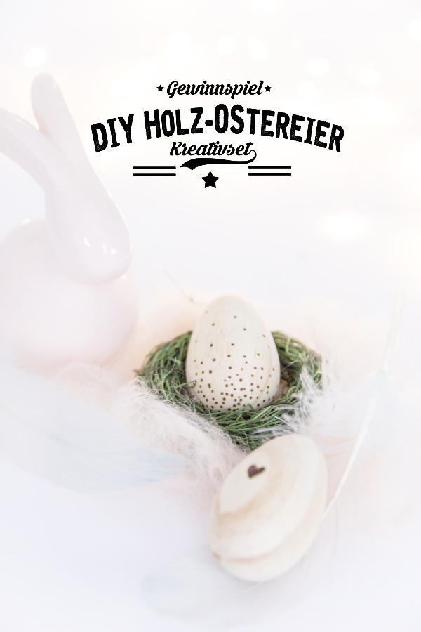 DIY Ostereier aus Holz - Kreativ mit dem Brandmalkolben zu Ostern - by http://titatoni.blogspot.de/