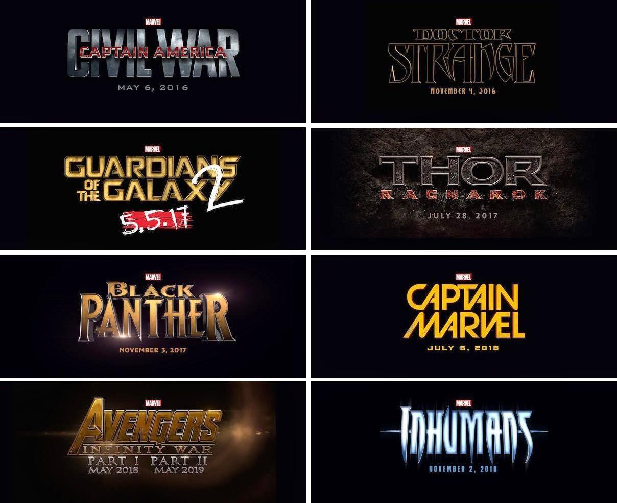 Geek's Elixir: Marvel Phase 3 Reading