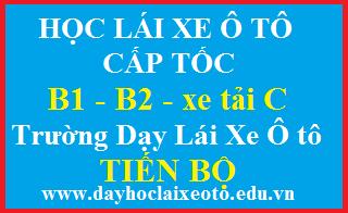 học lái xe ô tô Tiến Bộ Tân Phú