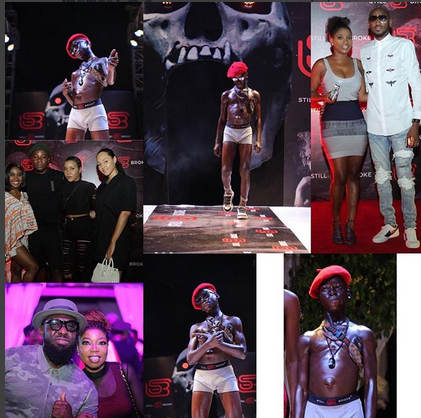 """Young Boy From Makoko Delights Superstars And Guests At """"Still broke official Launch"""""""
