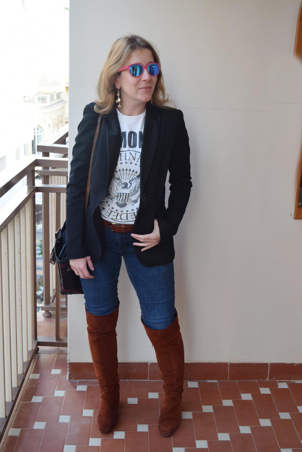 6c0d9ba310 mcompany style  Formas de llevar una blazer. Ramones