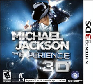 Michael Jackson The Experience 3D 3DS CIA USA