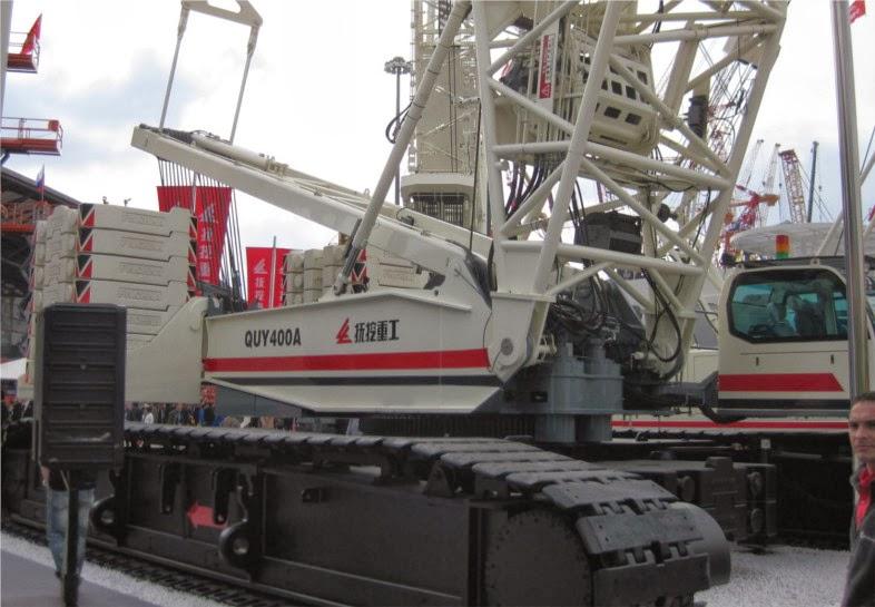 fuwa quy400a crawler crane