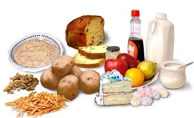 Carbs rich foods