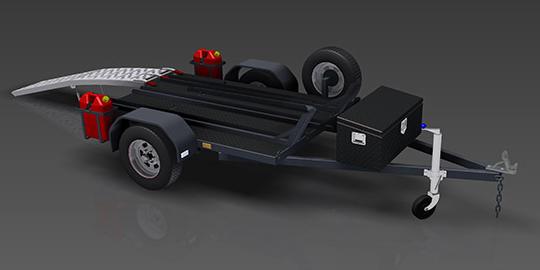 open-motorbike-trailer