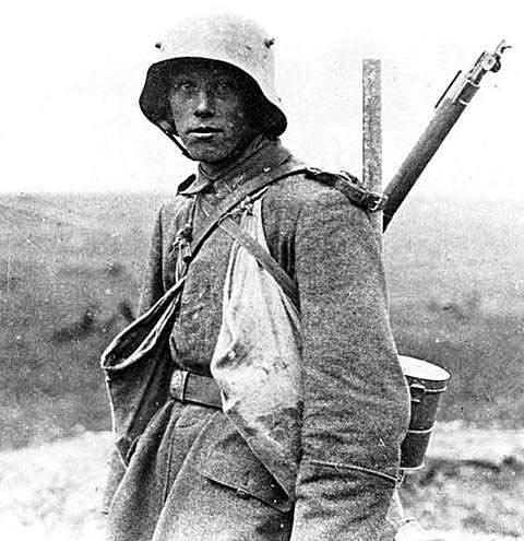 German POW 1914