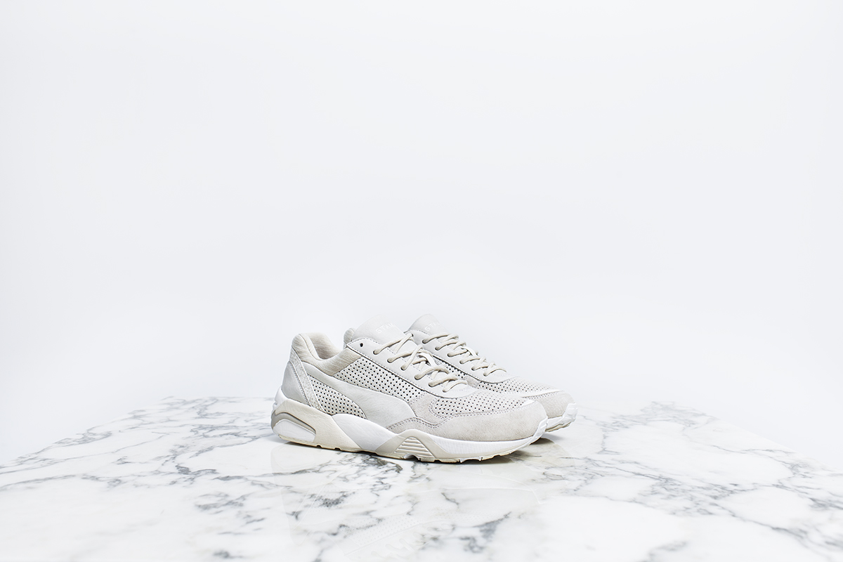 ce3e18f10bd Back in 1989, PUMA debuted their most advanced technology yet. Known as the  Trinomic cushioning system, it was easily identified by the use of a  hexagonal ...
