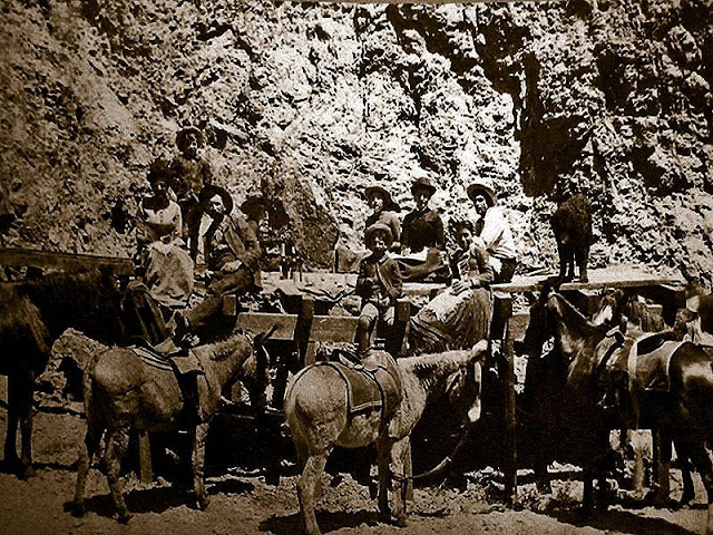 Most miners in Calico did not have families, however the merchants of the town did.