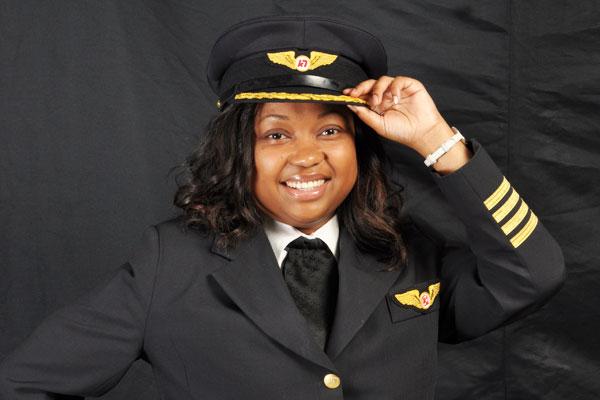 A LEGEND FEMALE PILOT: Airline Captain Irene Koki Mutungi!