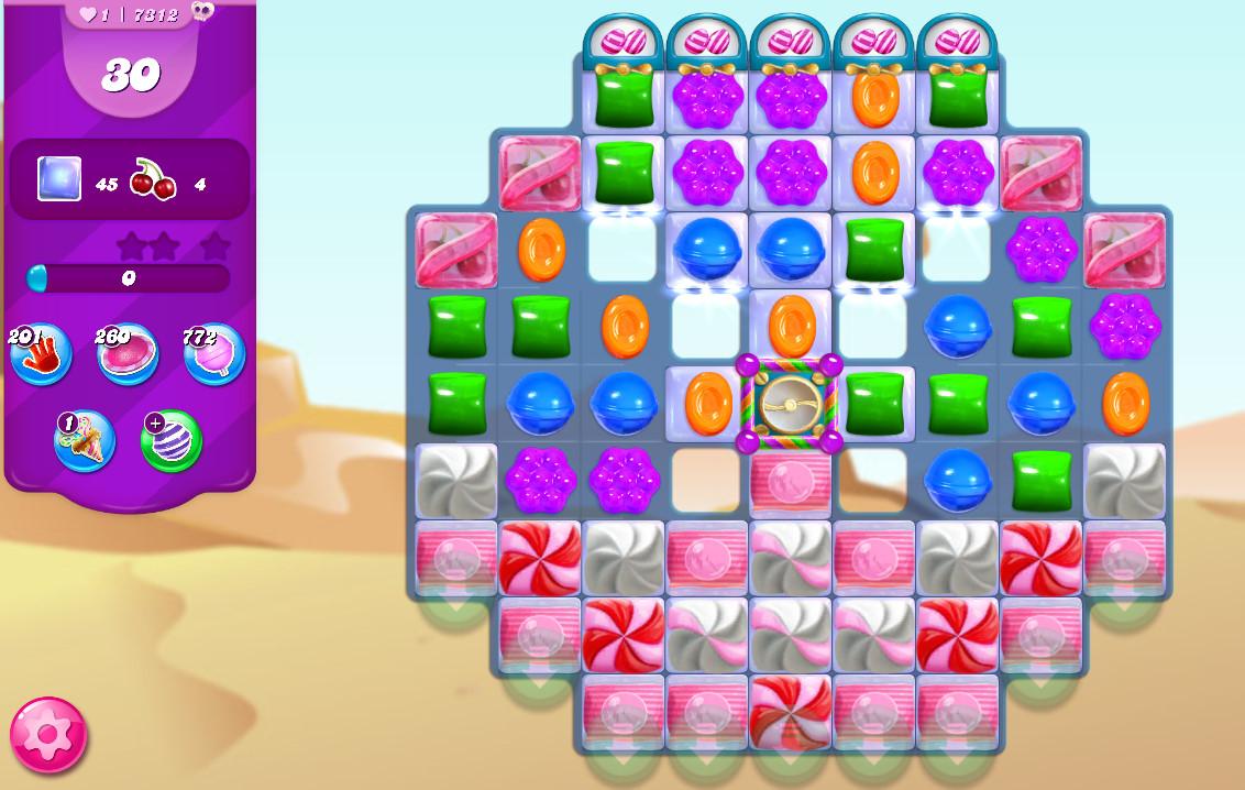 Candy Crush Saga level 7312