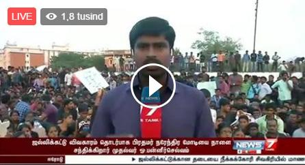 LIVE : Jallikattu – News 7 Tamil