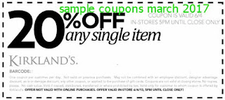 free Kirklands coupons for march 2017