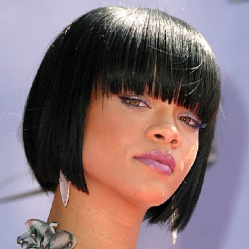 Stupendous Short Bob Hairstyles For African American Women With Bangs Short Hairstyles Gunalazisus