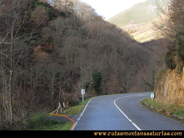 Ruta Tromeu y Braña Rebellón: Punto de partida