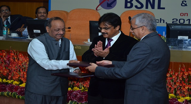 BSNL signed MoU with Tata Sky to provide Video on Demand to Broadband Customers