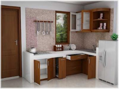 contoh desain dapur sederhana dan murah