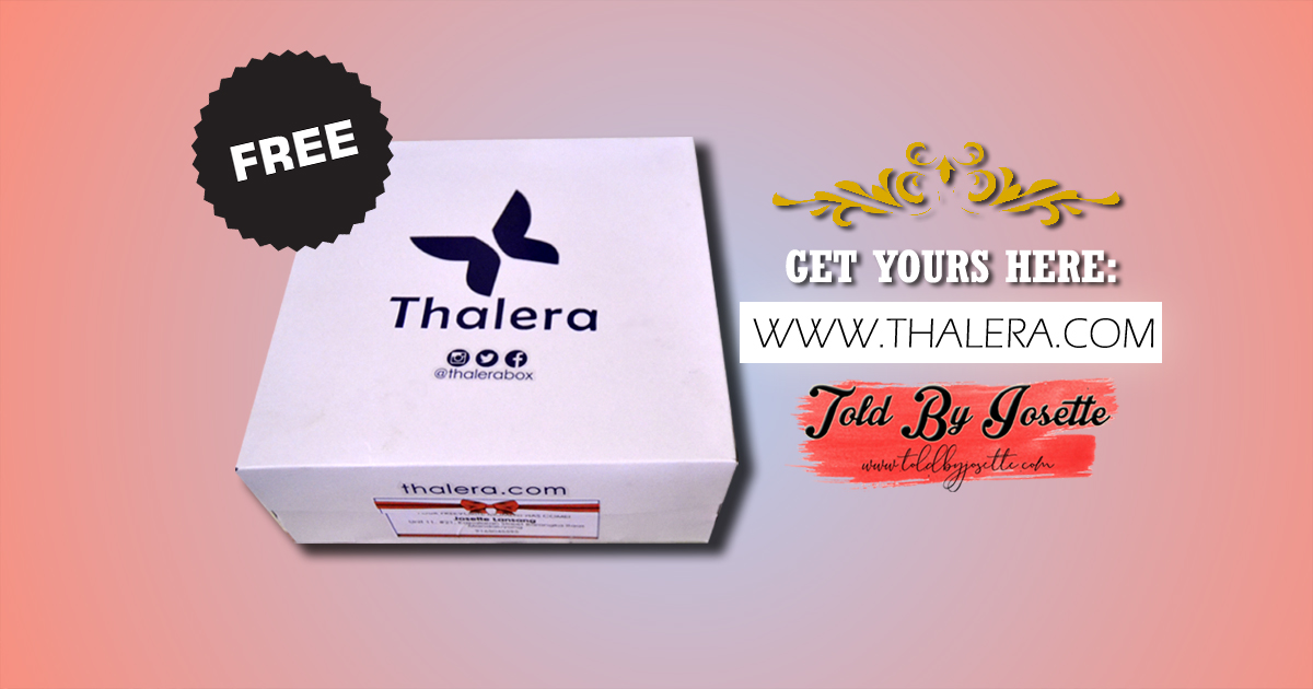 Free Box of Goodies from Thalera: What's Inside?