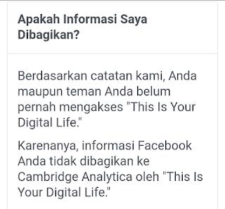 notifikasi data facebook tidak di curi