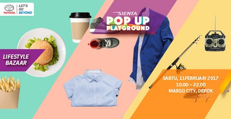 Lifestyle Bazaar: All New Sienta Pop Up Playground
