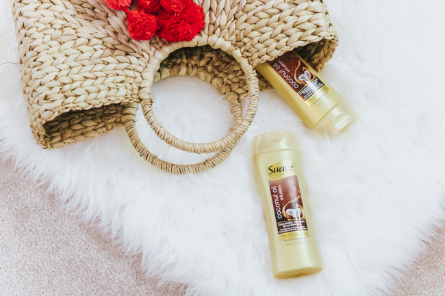 suave professionals coconut oil shampoo and conditioner
