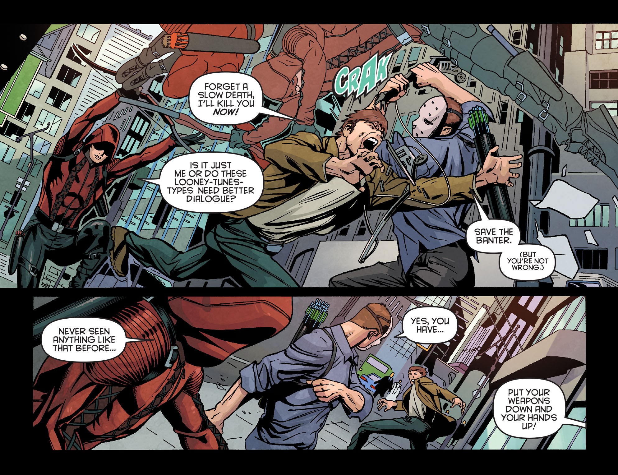 Read online Arrow: Season 2.5 [I] comic -  Issue #18 - 6