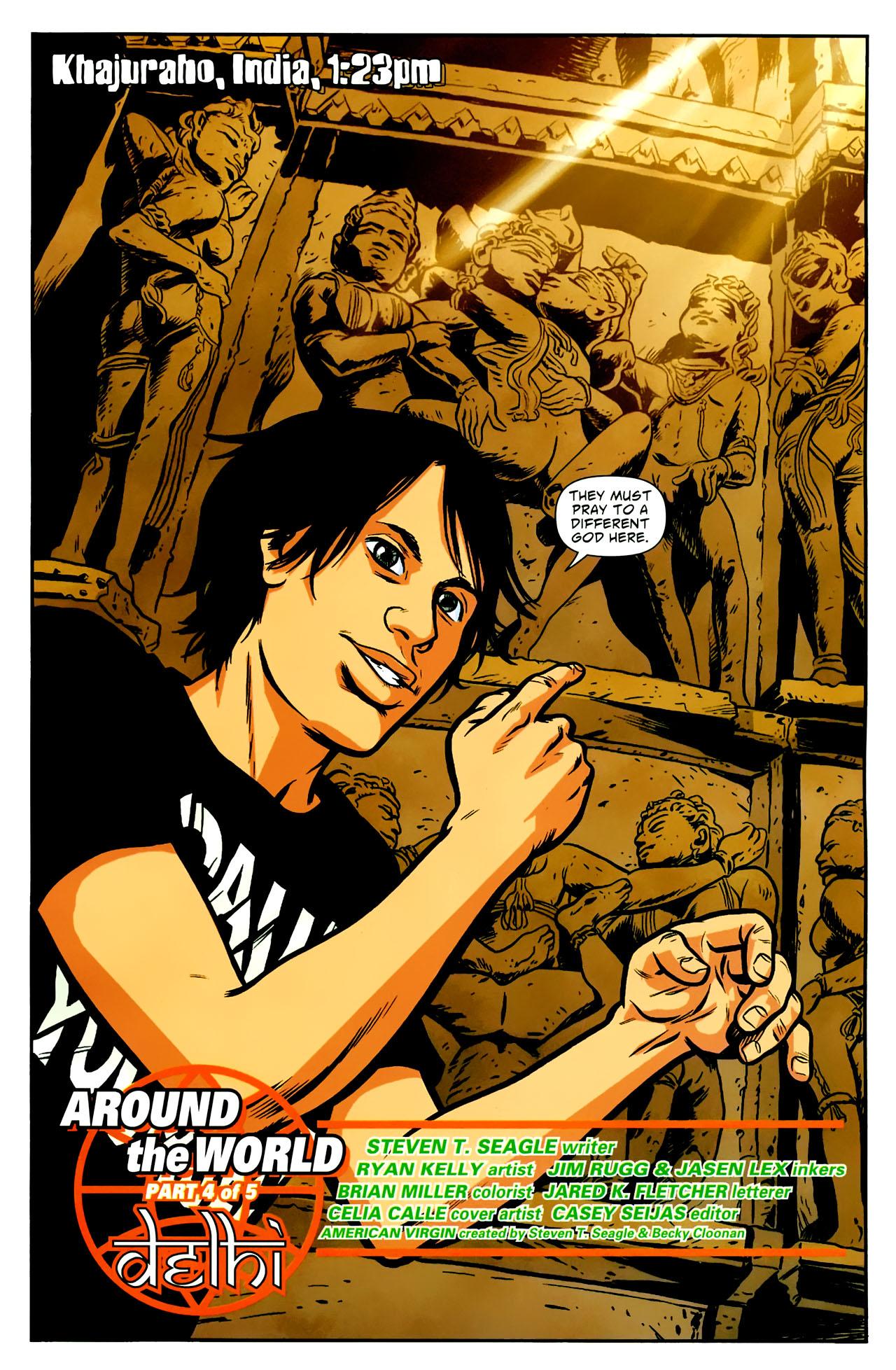 Read online American Virgin comic -  Issue #18 - 2