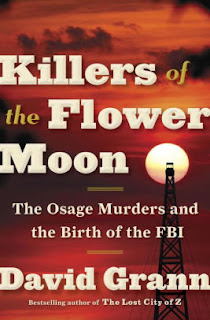 """Adult Book Group Reads """"Killer of the Flower Moon"""" for February 2 or 7, 2018"""