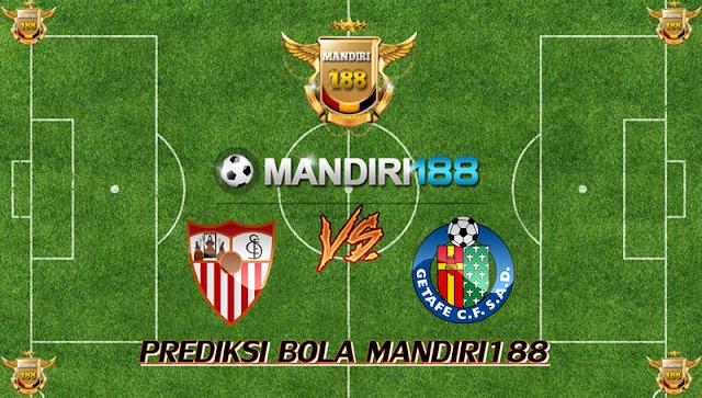 AGEN BOLA - Prediksi Sevilla vs Getafe 29 Januari 2018