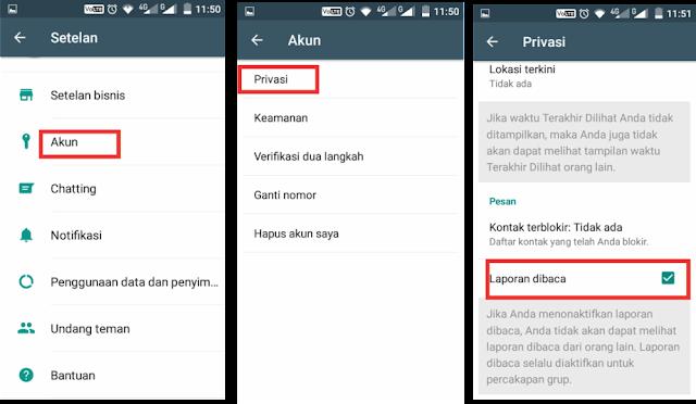 Trik Baca Pesan WhatsApp Tanpa Membukanya