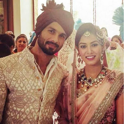 Shahid Kapoor wedding