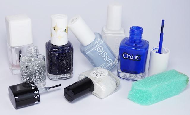 Nailpolish, Essie, Sephora, Ciaté, Color Club, Galaxy Nails, Blue Nails