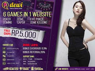 Mengenal Kartu Judi Poker Online Server IDN Play QDewi.net