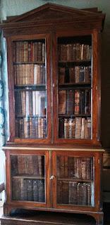 Szafa biblioteczna w Pałacu Radziwiłłów w Nieborowie