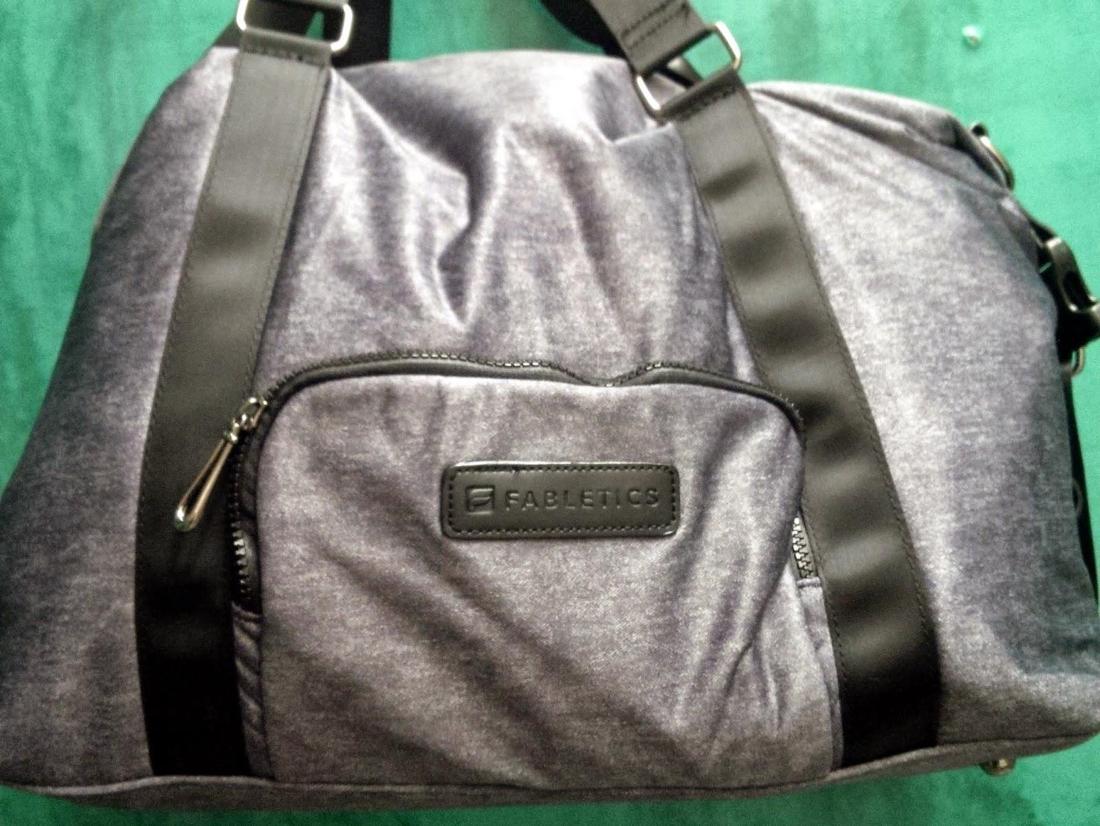 Fabletics duffel bag