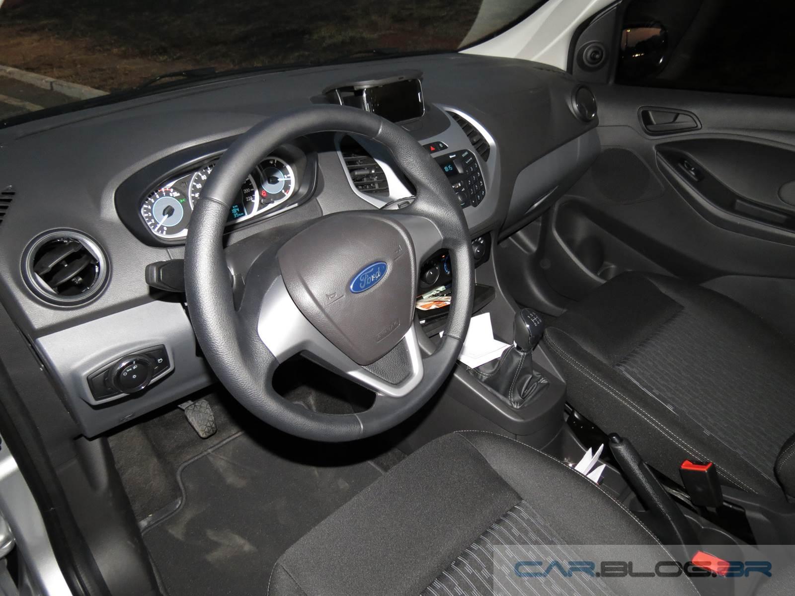 Novo Ford Ka Se  Consumo